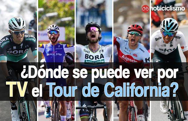 ¿Dónde se puede ver por TV el Tour de California 2018?