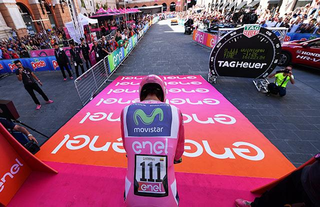 Giro de Italia (Etapa 1) Horario y orden de salida de la contrarreloj individual