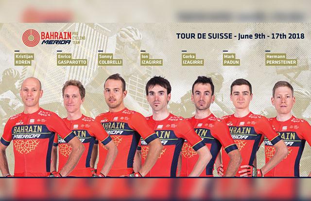 Bahrain-Merida - Tour de Suiza 2018