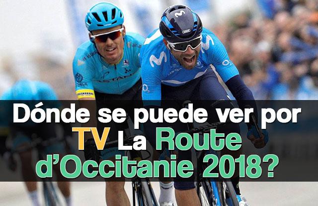 ¿Dónde se puede ver por TV La Route d'Occitanie 2018?