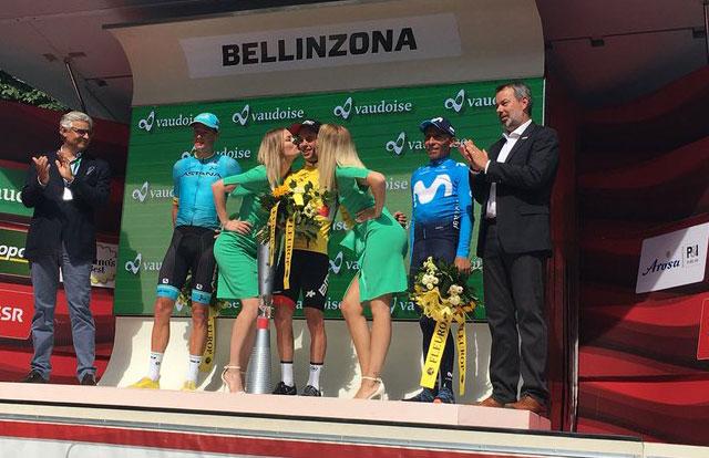 Tour de SUiza 2018 - Podium