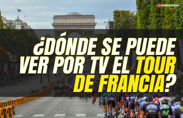 ¿Dónde se puede ver por TV el Tour de Francia 2019?