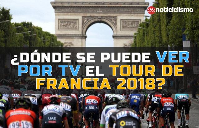 ¿Dónde se puede ver por TV el Tour de Francia 2018?