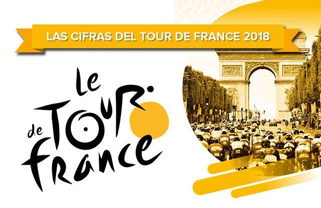 Números y curiosidades del Tour de Francia 2018