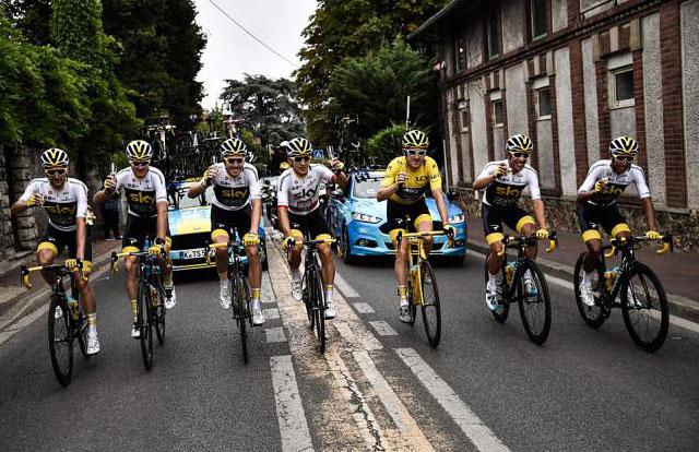 Team Sky - Tour de Francia 2018