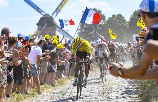 Tour de Francia 2018 - Adoquines