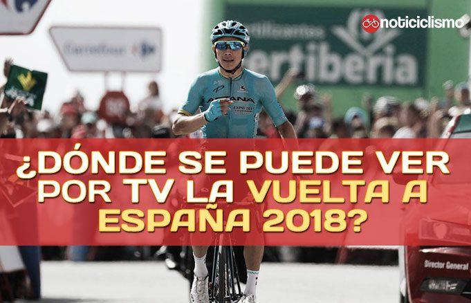 ¿Dónde se puede ver por TV la Vuelta a España 2018?