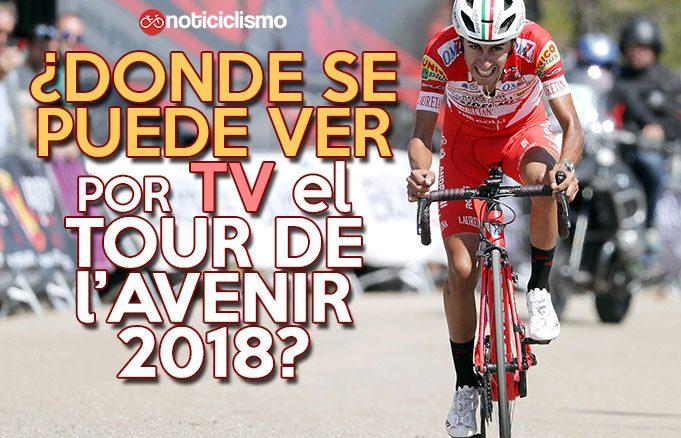 Donde se puede ver por TV el Tour de l'Avenir 2018