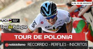 Tour de Polonia 2018: Recorrido, Perfiles, Favoritos y Lista de Ciclistas Inscritos