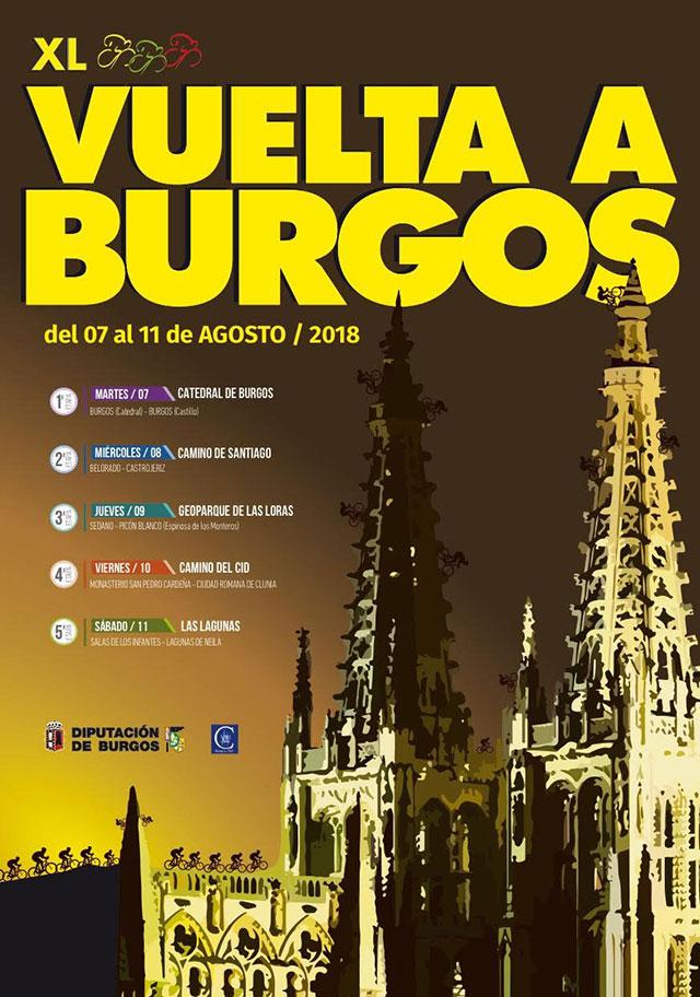 Vuelta a Burgos 2018 - Recorrido