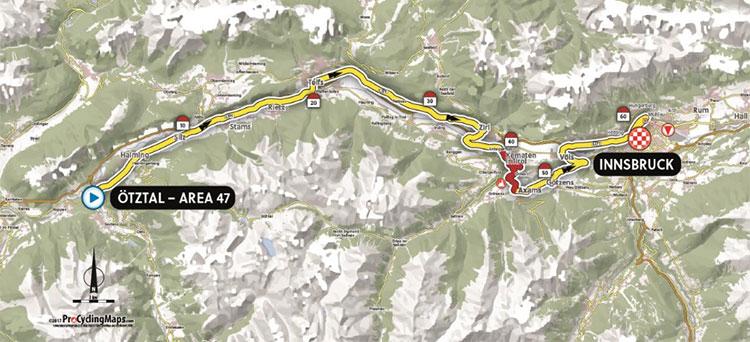 Campeonato Mundial de Ruta UCI 2018 - Contrarreloj Por Equipos - Recorrido