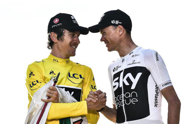 Chris Froome y Geraint Thomas