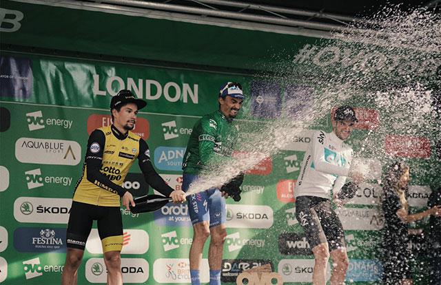 Tour de Gran Bretaña 2018 - Podio