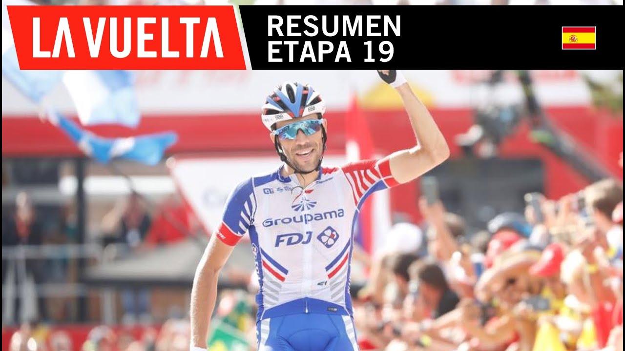 Vuelta a España 2018 (Etapa 19) Resumen y Ultimo Kilometro ...