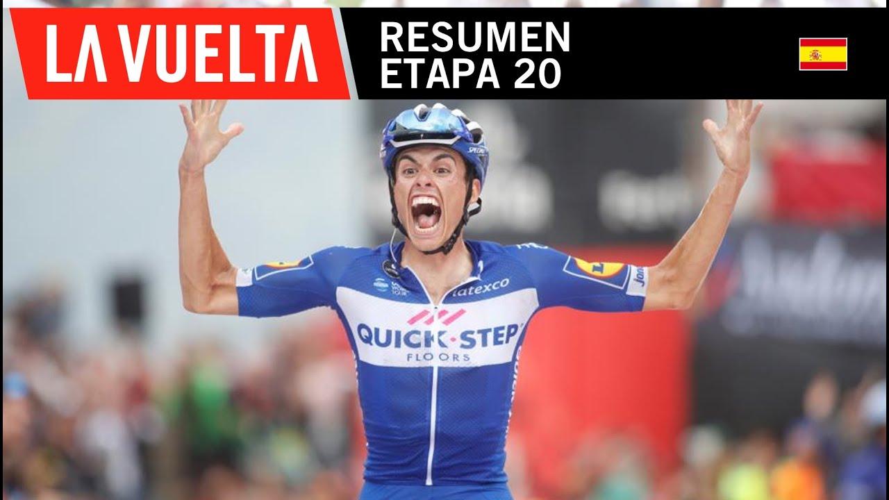 Vuelta a España 2018 (Etapa 20) Resumen y Ultimo Kilometro ...