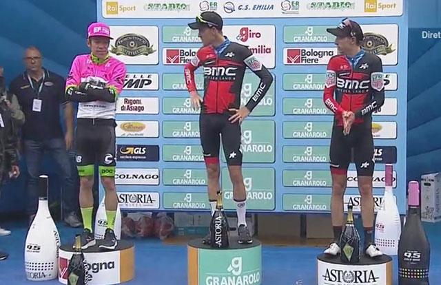 Giro dell'Emilia 2018 - Pódium