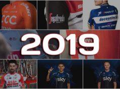Los Maillot de los Equipos WorldTour 2019