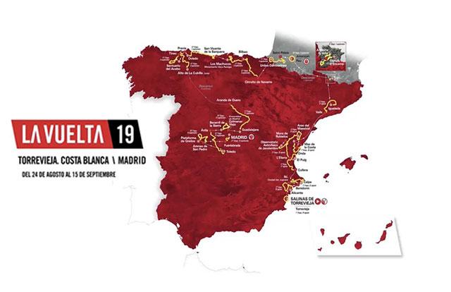 Vuelta a España 2019 - Recorrido