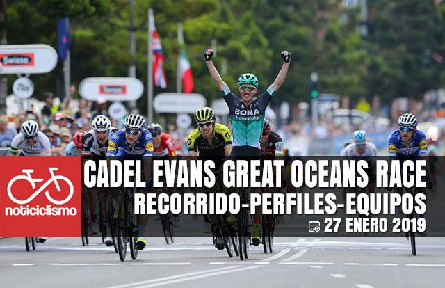 Cadel Evans Great Road Race 2019 - Previa