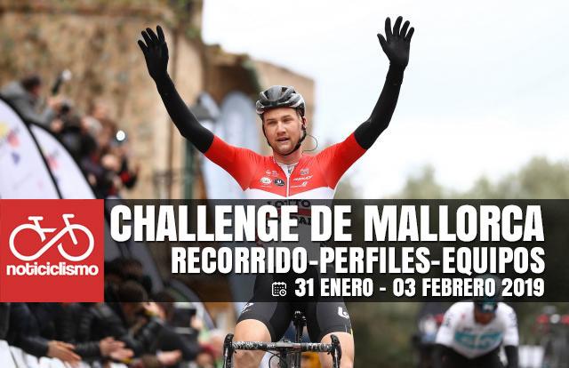 Challenge de Mallorca 2019 - Recorridos, Perfiles y Equipos