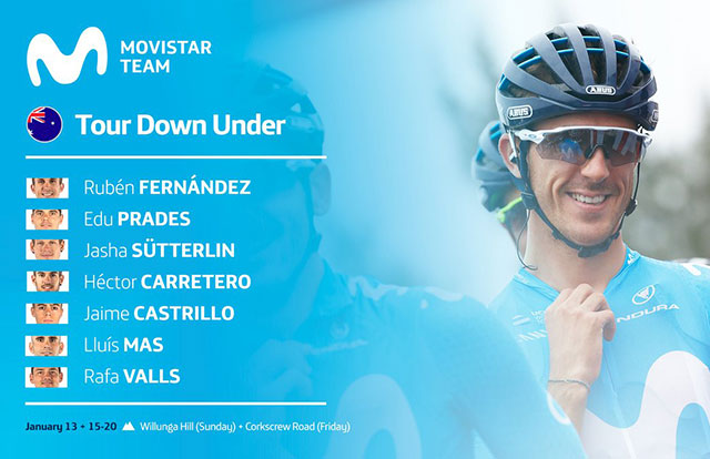 Movistar Team - Tour Down Under 2019