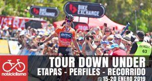 Tour Down Under 2019: Etapas, Perfiles y Recorrido