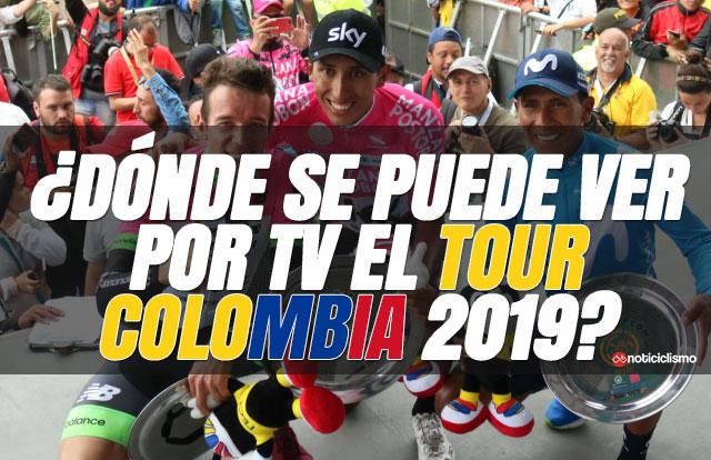 ¿Dónde se puede ver por TV el Tour Colombia 2019?