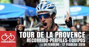 Tour de la Provence 2019: Recorrido, Perfiles y Equipos