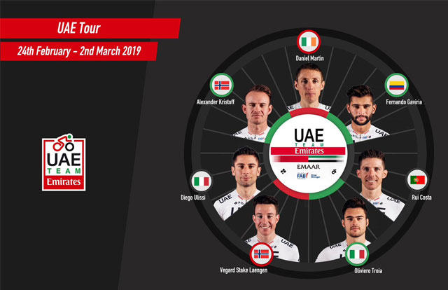 UAE Team Emirates - UAE Tour 2019