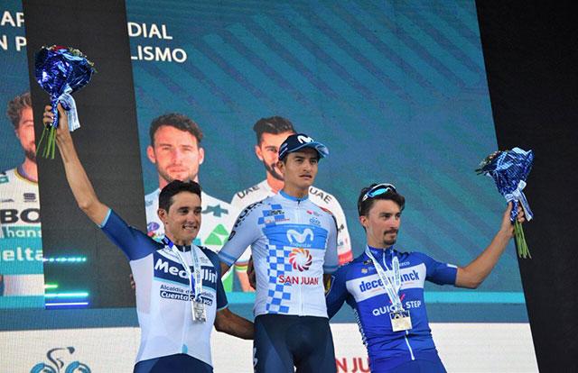 Pódium de la Vuelta a San Juan 2019