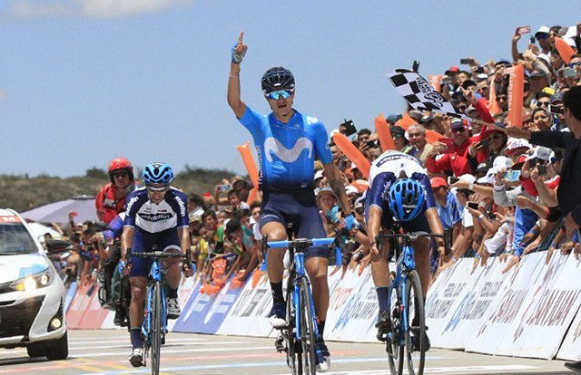 Winner Anacona (Movistar Team)