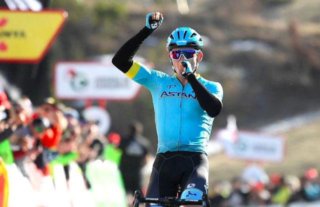 Espectacular victoria de Miguel Ángel López en la cuarta etapa de la ...