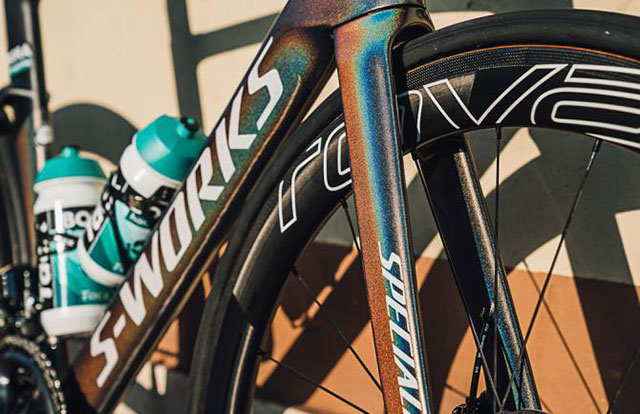 Sagan Specialized S-Works Venge para la Milan-San Remo