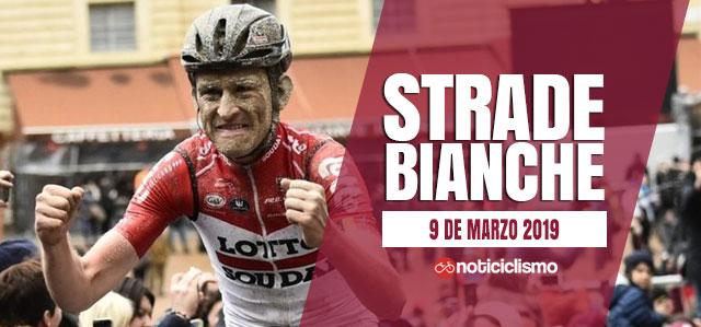 Strade Bianche 2019 - Banner