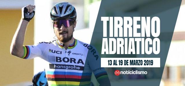 Tirreno-Adriatico 2019 - Banner