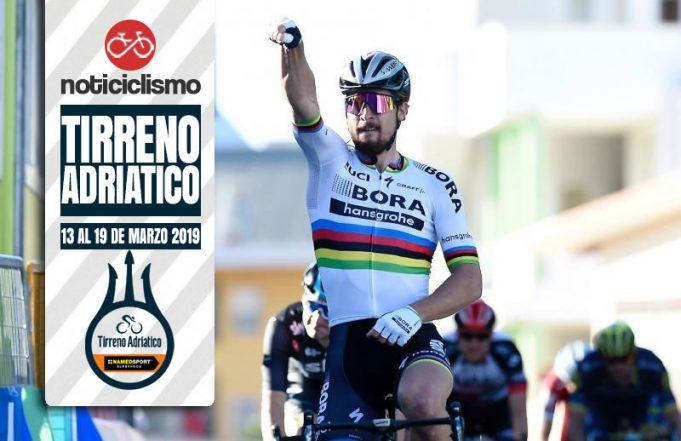 Tirreno-Adriático 2019 - Recorrido, Perfiles y Ciclistas Inscritos