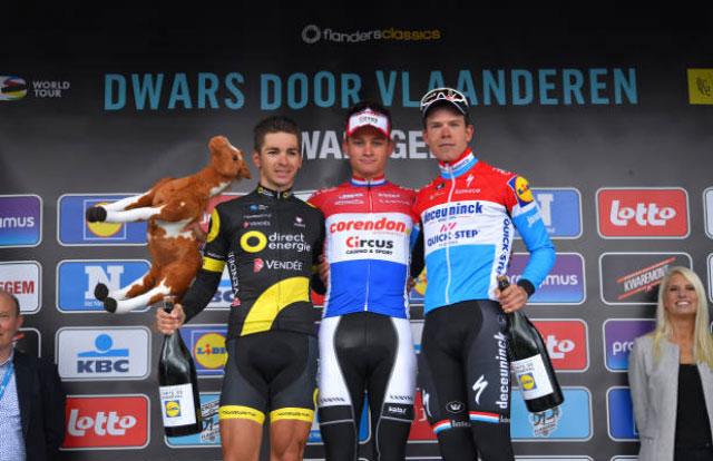 Dwars Door Vlaanderen 2019 - Pódium