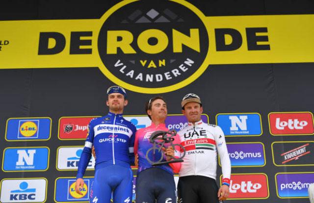 Tour de Flandes 2019 - Podium