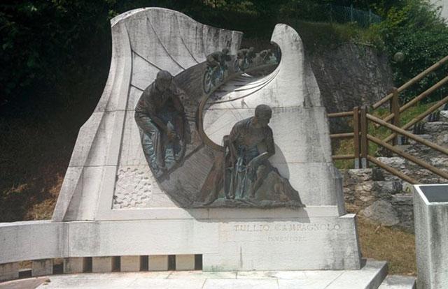 Tullio Campagnolo Monumento