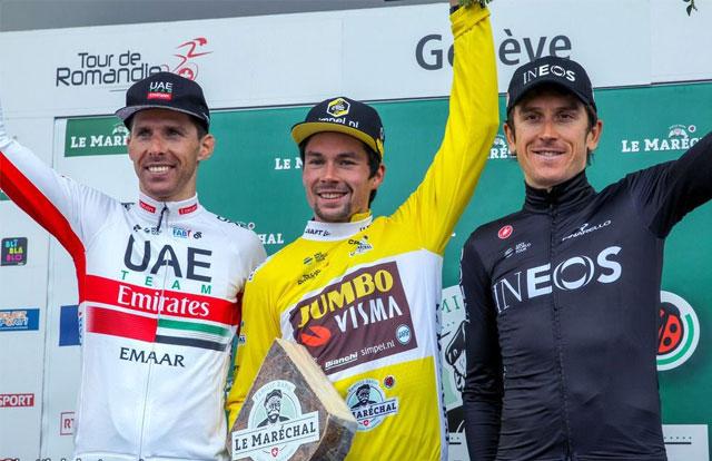 Tour de Romandía 2019 – Pódium