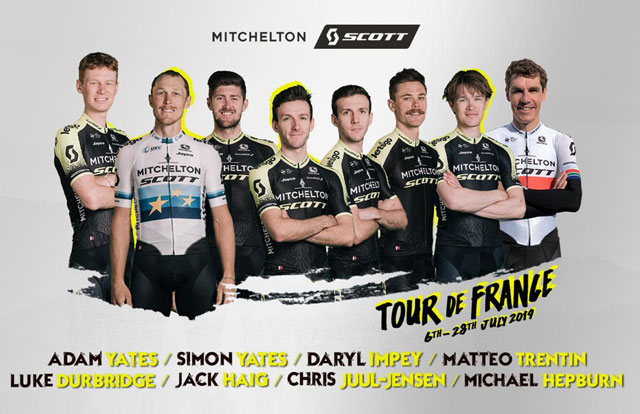 Mitchelton-Scott - Tour de Francia 2019