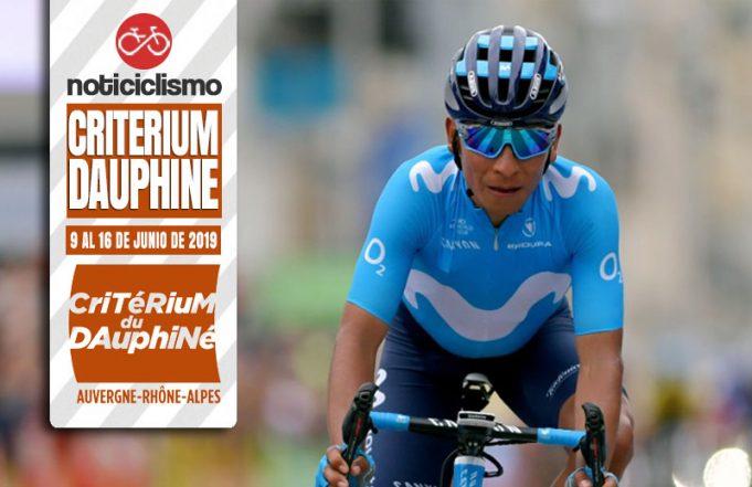 Critérium du Dauphiné 2019: Recorrido, Perfiles y Ciclista Inscritos