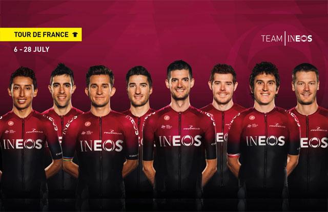 Team Ineos - Tour de Francia 2019