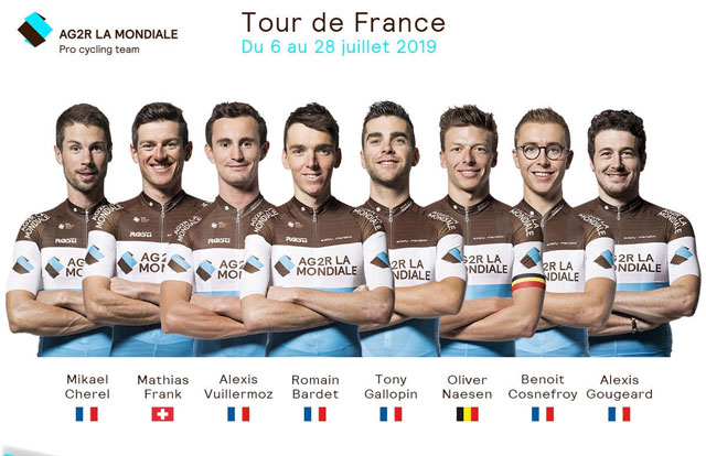AG2R La Mondiale - Tour de Francia 2019