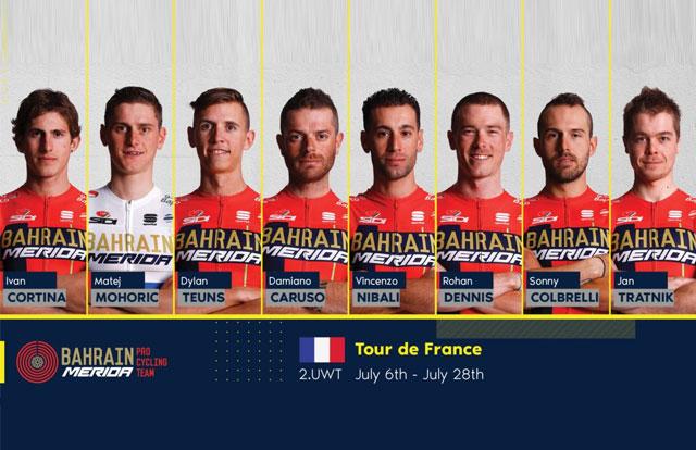 Bahrain-Merida - Tour de Francia 2019