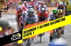 Tour de Francia 2019 (Etapa 1) Resumen y Ultimo Kilometro