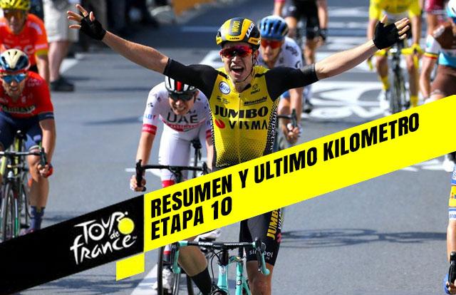 Tour de Francia 2019 (Etapa 10) Resumen y Ultimo Kilometro