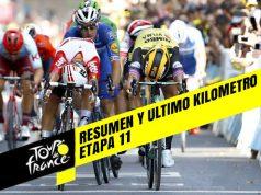 Tour de Francia 2019 (Etapa 11) Resumen y Ultimo Kilometro