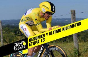 Tour de Francia 2019 (Etapa 13) Resumen y Ultimo Kilometro