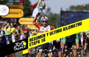Tour de Francia 2019 (Etapa 16) Resumen y Ultimo Kilometro